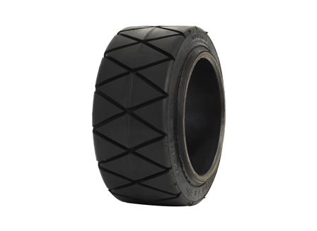Tire, Rubber, 10x5x6.5, Sipe - Diamond