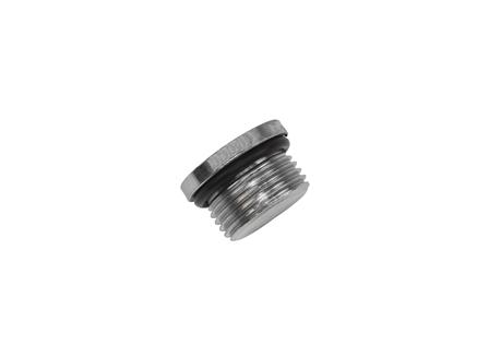 Plug with O-Ring, Thread: 1-1/16-12, Depth: .594 in.