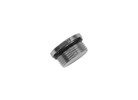 Plug with O-Ring, Thread: 1-5/16-12, Depth: .594 in.
