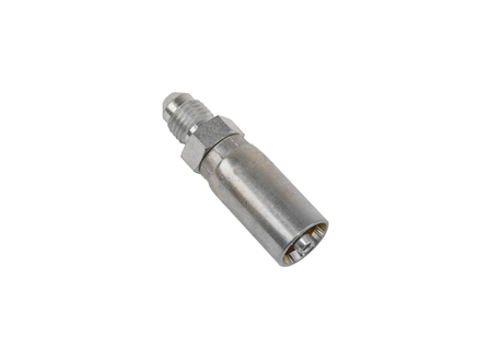 Coupling, JIC 37° Male Rigid, .1875 in. I.D., Dash Size -4