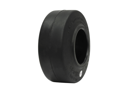 Tire, Rubber, 8.5x4x4, Smooth