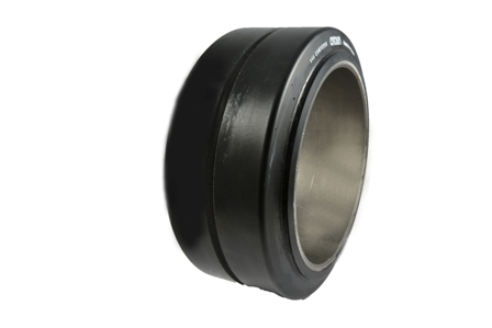 Polyurethane Tire, 13.5x5.5x8, Smooth, Compound: 341