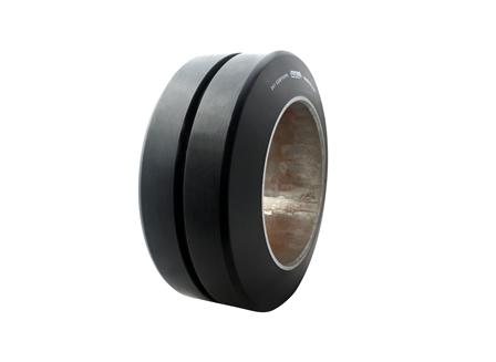 Polyurethane Tire, 13.5x5.5x8, Smooth, Compound: 343