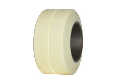 Polyurethane Tire, 9x5x5, Center Groove, Compound: 358, Non-Marking