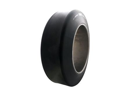 Polyurethane Tire, 13x4.5x8, Smooth, Compound: 243