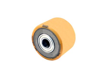 Polyurethane Wheel Assembly, 6x4.25x3.149, Compound 401