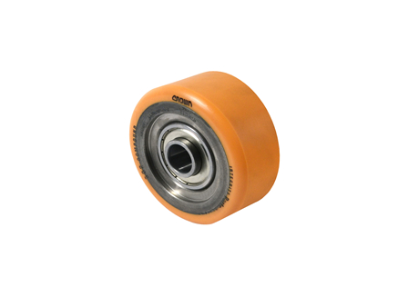 Polyurethane Wheel, 6x2.75x3.14, Compound 302