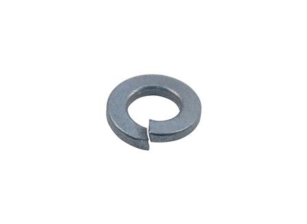 Split Lock Washer, Steel, Zinc Finish