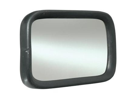 Rear View Mirror, Glass, 5.65 in. x 8.65 in.