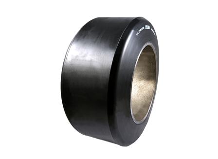 Polyurethane Tire, 13.5x6x8, Smooth, Compound: 243