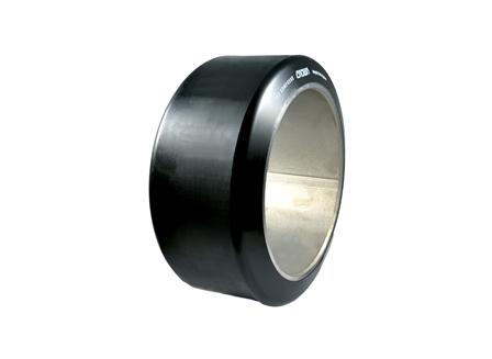 Polyurethane Tire, 13x5.5x9.5, Smooth, Compound: 342