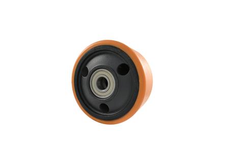 Polyurethane Wheel Assembly, 8x4x2.835, Compound 302