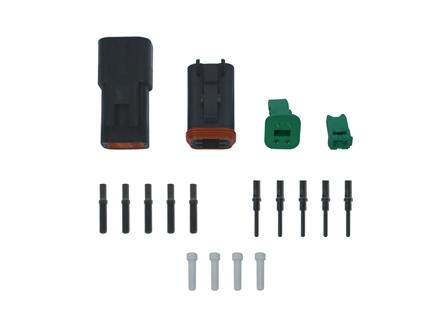 Deutsch DT Connector Kit, Circuits: 4
