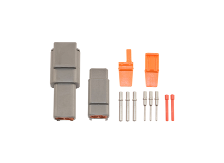 Deutsch DTM Connector Kit, Circuits: 2