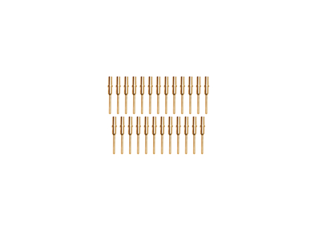 Replacement Contact, DTM, Pin, Gold, Pack/25