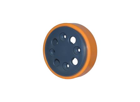Polyurethane Wheel, 8.5x2.69x2.76