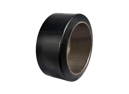 Polyurethane Tire, 15.25x7x11.25, Smooth, Compound: 341