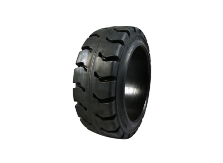 Tire, Rubber, 16x6x10.5, Traction
