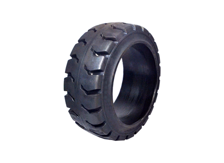 Tire, Rubber, 18x7x12.125, Traction