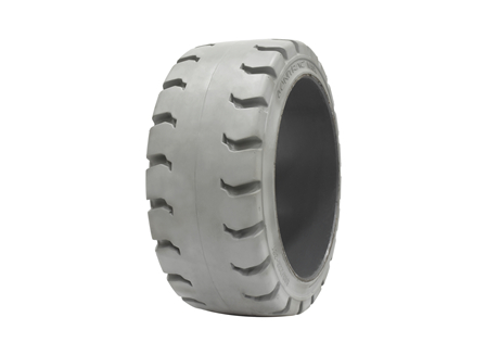 Tire, Rubber, 21x9x15, Traction, Non-Marking Grey
