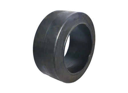 Tire, Rubber, 18x8x12.125, Smooth