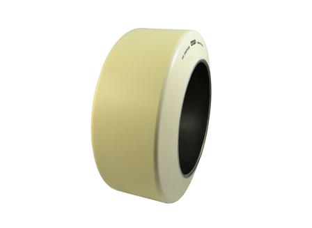 Polyurethane Tire, 16x7x10.5, Smooth, Compound: 354, Non-Marking