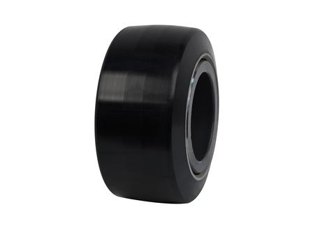 Polyurethane Tire, 10x5x6.5, Smooth, Compound: 344