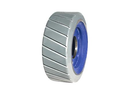 Polyurethane Tire, 9.84x3.94x5.71, Sipe - Thin