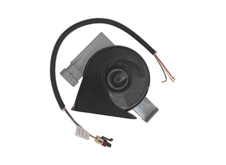 Electronic Horn, L Bracket, 12 V, 105 dB