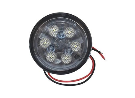Sealed Beam (102 mm/4 in) Diameter Bulb, 10-60 V