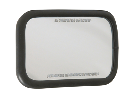 Rear View Mirror, Acrylic, 4.5 in. x 8 in.