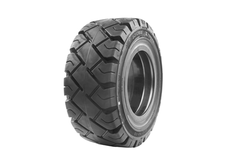 Tire, Solid Resilient, 200/50-10, Compound: 487, Black