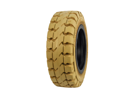 Tire, Solid Resilient, 140/55-9