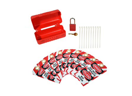 Lockout Tag Out Kit (single connector only)