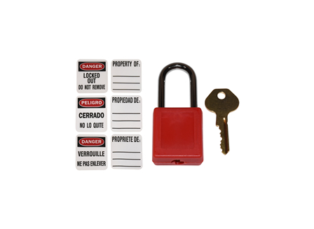 Lockout Tag Out (Lock Only)