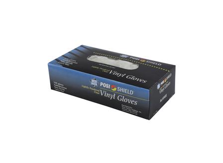 Vinyl Gloves, Clear, 100PK