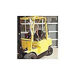 Atrium Forklift Enclosure, Clear Vinyl