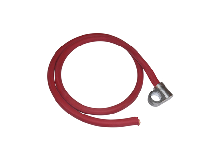 Standard Cable Assembly, Offset, Red, Gauge: #1
