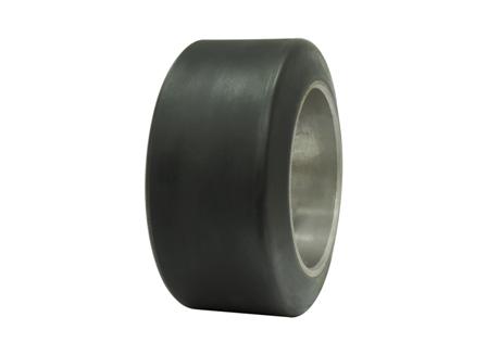 Polyurethane Tire, 10x5x6.5, Smooth, Compound: 243