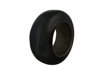 Polyurethane Tire, 13.5x5.5x8, Smooth, Compound: 142