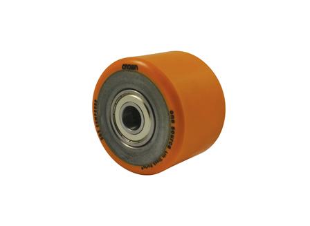 Polyurethane Wheel Assembly, 5x3.63x2.44, Compound 302