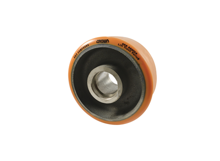 Polyurethane Wheel, 8x4x2.44, Compound 302