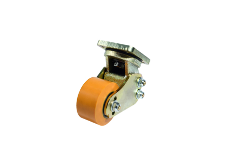 Pallet Truck Caster Assembly, Height 7.5 in.