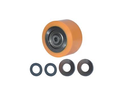 Polyurethane Wheel Assembly, 4x2.5x2.047, Compound 306