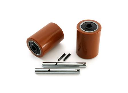 Load Wheel Kit, Electric Pallet Jack, 3.25 in. x 4.5 in. Load Wheel, For Hyster