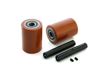 Load Wheel Kit, Electric Pallet Jack, 3.25 in. x 4.5 in. Load Wheel, For Blue Giant, BT Prime Mover, Raymond, Toyota