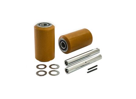 Load Wheel Kit, Electric Pallet Jack, 3.25 in. x 5.93 in. Load Wheel, For CAT, Raymond, Toyota