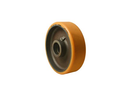 Polyurethane Wheel, 10x3x2.325, Compound 302