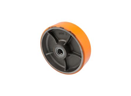 Polyurethane Wheel Assembly, 10x3x2.325