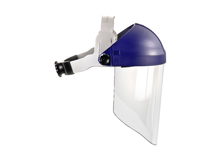 3M™ Ratchet Headgear with Face Shield